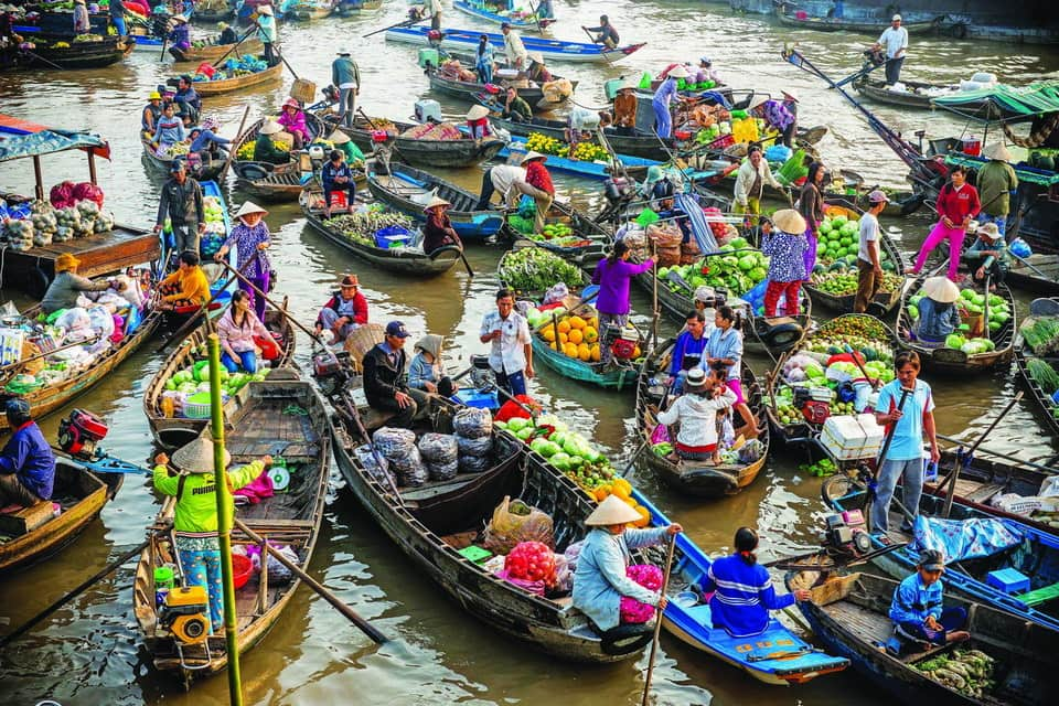 5 interesting things about floating market